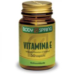 Angelini Body Spring Vitamina E contribuisce alla protezione delle cellule dallo stress ossidativo 50 capsule