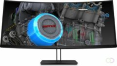 "HP Z38c 37.5"" Ultra-Wide Quad HD+ IPS Zwart computer monitor"