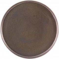 Vista Alegre Shine Set 6 Bord 27,5 cm Bruin Stoneware 621423