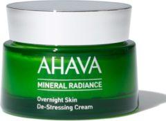 Ahava Mineral Radiance Overnight De-Stressing Cream.