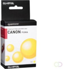 Inkcartridge Quantore Canon CLI-571XL geel