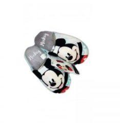 Pantofola bimbo bambino Disney Mickey verde acqua Tg 2829