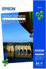 Epson Premium Semigloss Fotopapier 20 vel (A4)