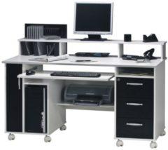 Bermeo Nicole Computer Bureau - Wit met zwart