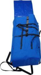 Blauwe Aquaparx Vouwbare Boottas (Backpack) Geschikt voor 280m Rubberboot