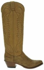Sendra 8840 Lia dames cowboylaars - Cognac - Maat 40