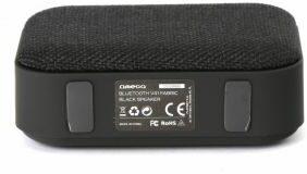 Afbeelding van Zwarte Draadloze bluetooth mini speaker omega - zuivere geluidskwaliteit - klein maar fijn - kwal