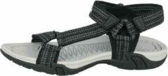 Lico Sandaal, kleur zwart/grijs maat 44