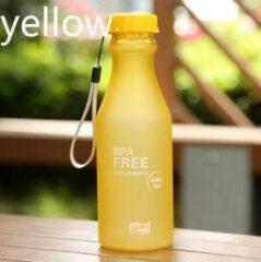 Koozie.eu 2 x BPA vrije sport waterfles - geel