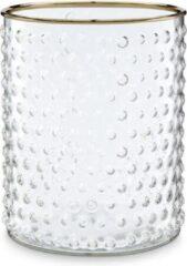 Vtwonen Vaas-Rond-Glas-Goud-17cm