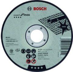 Bosch Professional accessoire Doorslijpschijf recht Expert for Inox AS 30 S INOX BF, 115 mm, 22,23 mm, 3,0 mm 1st