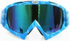 Improducts Skibril stoere luxe lens blauw evo frame blauw N type 7 - ☀/☁