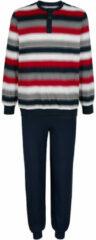 Marineblauwe Pyjama G Gregory 1x marine/rood/grijs