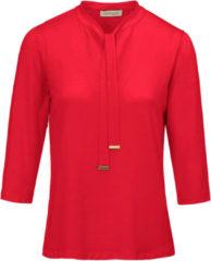 Shirt met ronde hals Van Uta Raasch rood