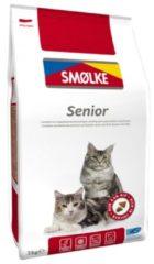 Smolke Cat Senior Kip&Rijst&Vis - Kattenvoer - 2 kg - Kattenvoer