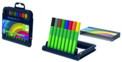 SCHNEIDERS Schneider schrijfstift Link-it, opstelbaar etui van 8 stuks in geassorteerde kleuren
