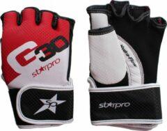 Zwarte Starpro G30 Mma Training Handschoenen Maat 18oz