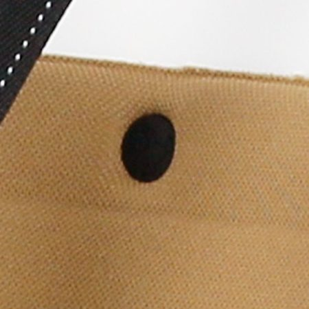 Afbeelding van Zwarte Rivel Bobike knop voor inlay excl