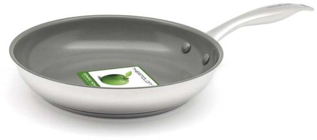 Afbeelding van Groene GreenChef Profile Plus Keramische Koekenpan - 24cm - Inductie