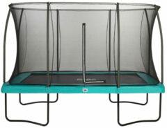 Salta Comfort Edition Trampoline met Veiligheidsnet - 366 x 244 cm - Groen