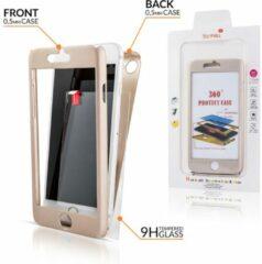 Geeek IPhone X Full Body 360 Super Thin Case Cover Hoesje Goud