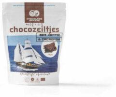 Chocolatemakers Chocozeiltjes Donkere Melk 52% Koffie & Nibs Bio (100g)