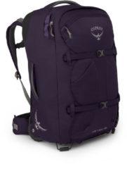 Paarse Osprey Fairview Wheels 36 Bag - Reistassen