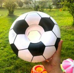 Assortimarkt.nl Opblaasbare voetbal voor in zwembad en stand speelgoed glas / blikhouder opblaasbaar speelgoed voor in water