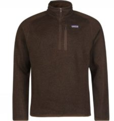 Patagonia Better Sweater 1/4 Zip Fleece Pullover bruin