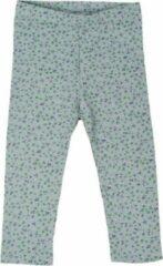 R Rebels | Katoenen baby legging | Groene bloemenprint | Maat 92