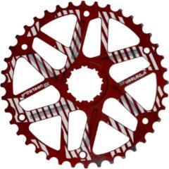 Rode E*thirteen Extended Range cassette 10-speed 42 tanden voor SRAM rood Uitvoering 42
