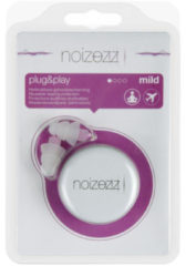 Noizezz Oordopjes Plug And Play Paars F 17db