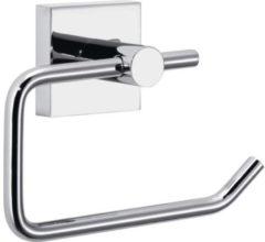 Tesa® Ekkro toiletrolhouder, hoogglans verchroomd metaal, zelfklevend