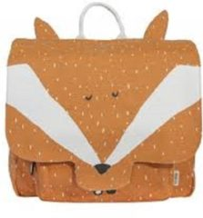 Oranje Trixi Baby Kleuterboekentasje / Schooltasje Mr. Fox | Trixie Baby