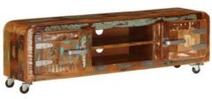 VidaXL Tv-meubel 120x30x36 cm massief gerecycled hout
