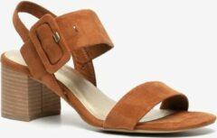 Nova dames sandalen met hak - Bruin - Maat 40