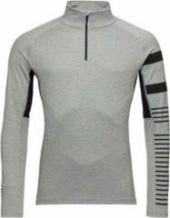 Rossignol poursuite zip heren ski pulli midden grijs