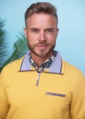 Gele GCM Heren sweater Heren Sweater Maat XL