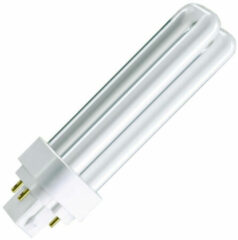 Witte Philips MASTER PL-T 4 Pin 16.5W GX24q-2 A Warm wit fluorescente lamp
