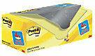 Gele Value Pack: Post-it® Notes, Canary Yellow™, 76 x 76 mm, 100 Blaadjes/Blok, 16 blokken + 4 GRATIS