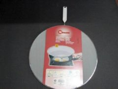 Grijze Tomado - Metaltex Metaltex antispatdeksel alu 33cm
