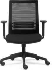 Zwarte Top Line Bureaustoel ergonomisch |Ryan|Thuisgebruik|
