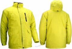 Starling Ski/Snowboardjas - Heren - Geel/Grijs/Blauw - L