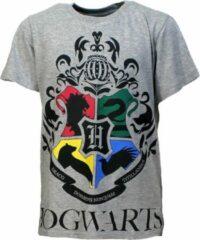 Harry Potter Hogwarts Kids T-Shirt Licht Grijs