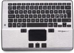 Zilveren Mousetrapper Alpha centric mouse + keyboard - wireless