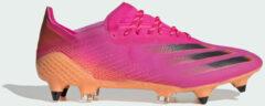 Roze Adidas X Ghosted.1 Soft Ground Voetbalschoenen