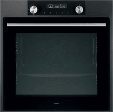 Zwarte ATAG OX6592C Matrix - Oven - met LED Display - 60 cm - Grafiet
