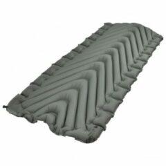 Grijze Klymit - Static V Luxe - Isomat maat XL stone gray/zwart
