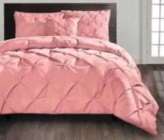Roze Beau Maison - Monte Carlo - Rosewood - 200 x 200/220 cm