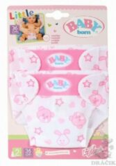 Witte Zapf creation BABY born Little Nappies 2 pack 36cm